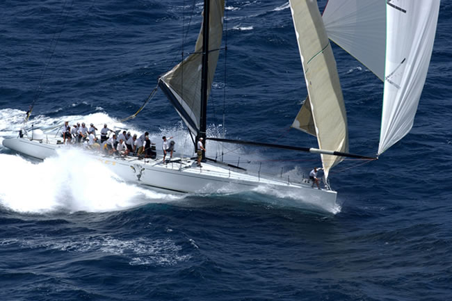 Hall Spars and Rigging - Seamless Carbon Masts - Racing Yachts - Sailing